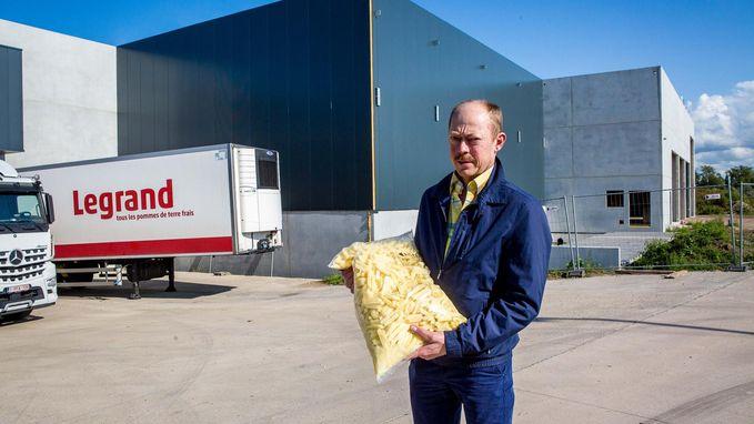 Aardappelbedrijf Legrand bouwt nieuwe productiehal