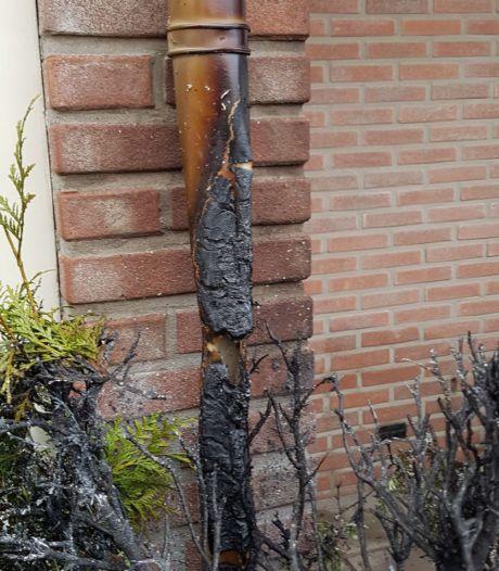 Buurtbewoners blussen tuinbrand in Albergen