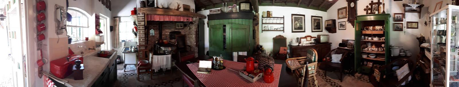 Overzicht van boerenmuseum D'n Aachterum.