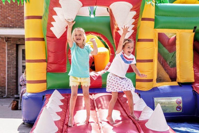 Ook de kinderen konden zich heel de dag amuseren