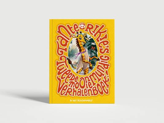 Cover van 'Tante Rikie's tweede onmundig mooie verhalenboek'.