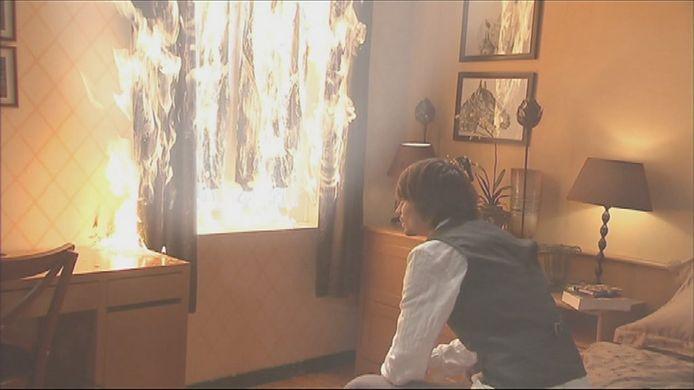 De brand in Ter Smissen maakte van de seizoensfinale van 2011 een echte thriller.