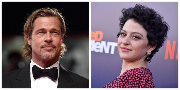 Brad Pitt is niét aan het daten met Alia Shawkat, dat zegt de actrice.