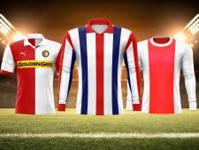 Willem II-shirt verkozen tot mooiste shirt, De Graafschap had die eer in jaren 70