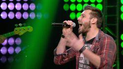 Iron Maiden in 'The Voice'! Bert laat het podium daveren met 'Run To The Hills'