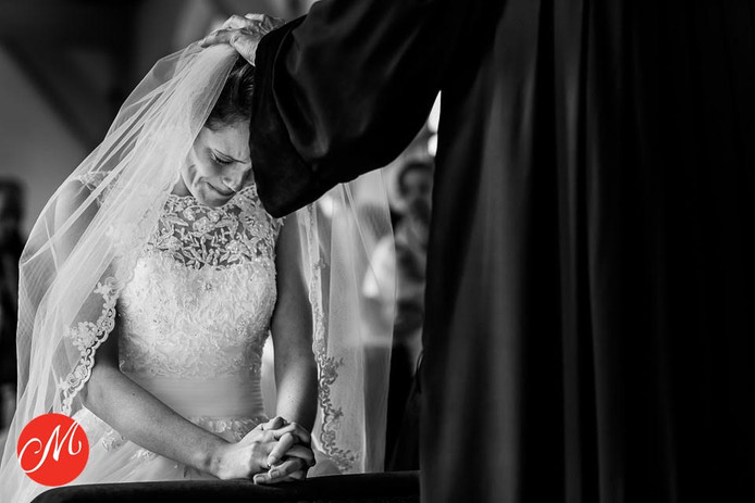 Bruidsfoto van Dianne Bouman.