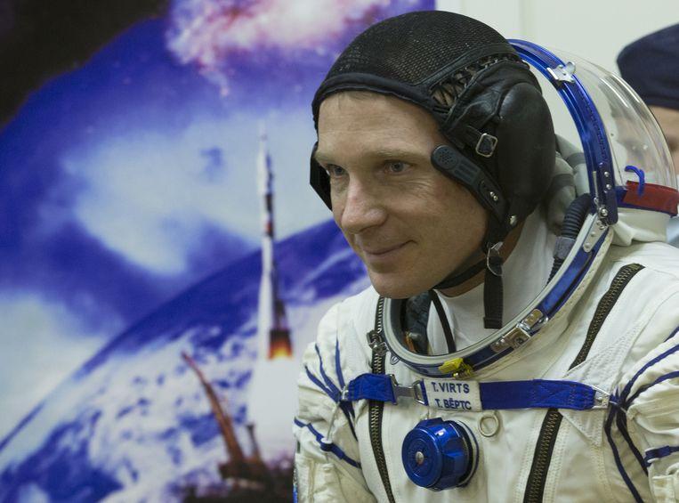 Terry Virts, één van de nieuwe bewoners van ISS. Beeld ap