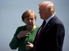 Merkel ontkent claim van Trump over stijgende criminaliteit in Duitsland
