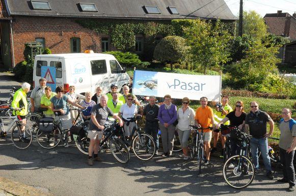 De recreatieve fietstocht van Pasar gaat van Ronse naar Mont de l'Enclus en Celles terug naar Ronse.