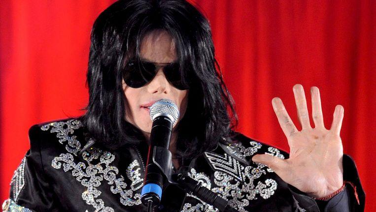 Michael Jackson Beeld epa
