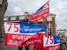 Ruim duizend bevrijdingsvlaggen verkocht in Wageningen, nieuwe partij is al onderweg