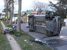 Beschonken automobilist veroorzaakt ravage in Rockanje