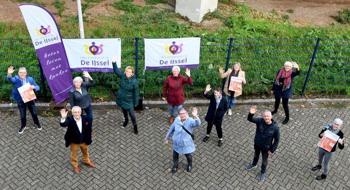 Vrijwilligers van Inloophuis de IJssel. Inloophuizen lopen veel inkomsten mis doordat evenementen niet doorgaan.