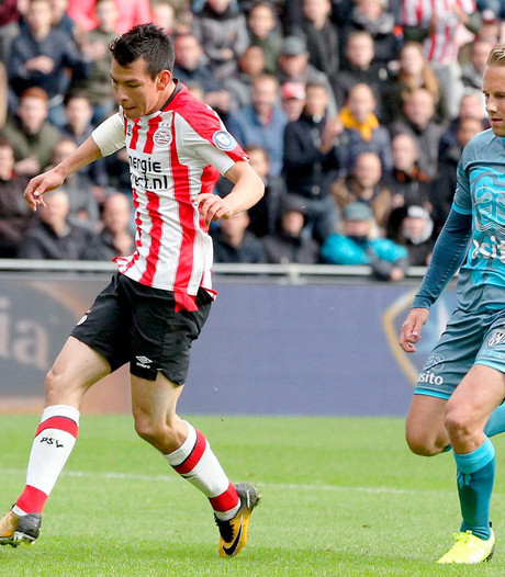 LIVE: Magere 1-0 ruststand voor dominant PSV