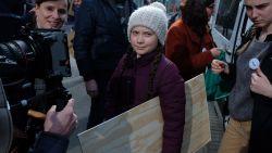 LIVE. Politie moet Greta Thunberg begeleiden wegens massale aandacht tijdens zevende klimaatmars