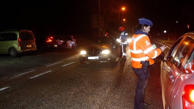 Politie betrapt bestuurder onder invloed en stelt nog tal van inbreuken vast tijdens controleactie