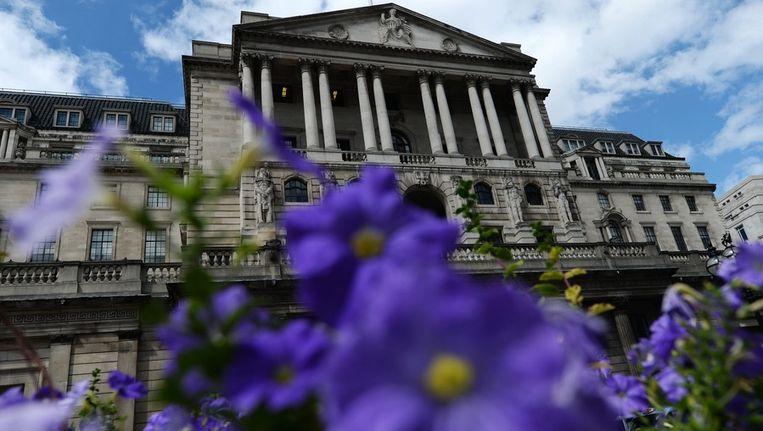 Het hoofdkantoor van de Bank of England Beeld epa