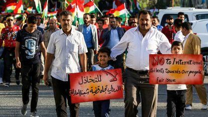 Koerden bieden aan resultaat onafhankelijkheidsreferendum te bevriezen