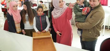 Koningsdag in de Turkiyem Moskee in Arnhem