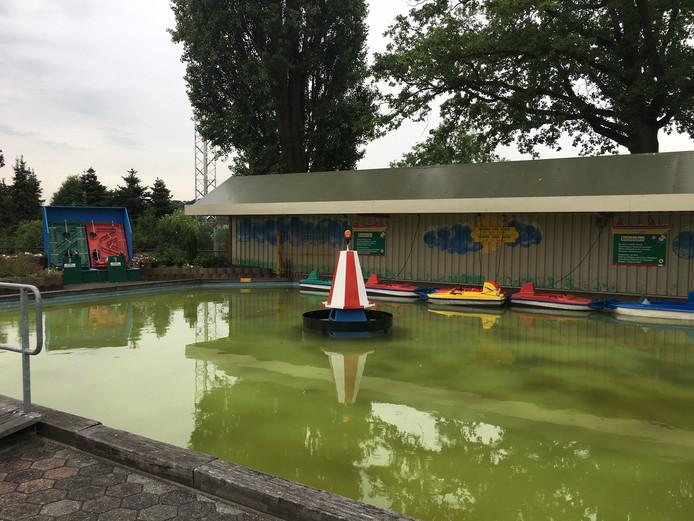 De botsboten bij Ter Huurne