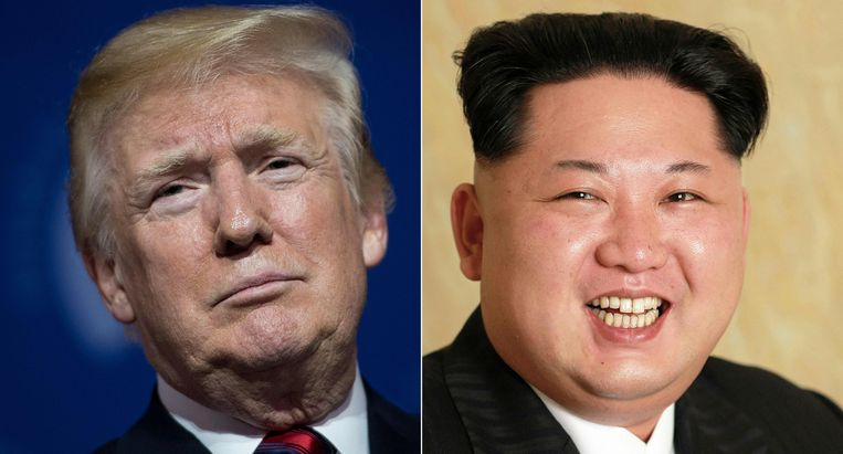 Donald Trump en Kim Jong-Un zullen elkaar vandaag in Singapore voor het eerst ontmoeten.