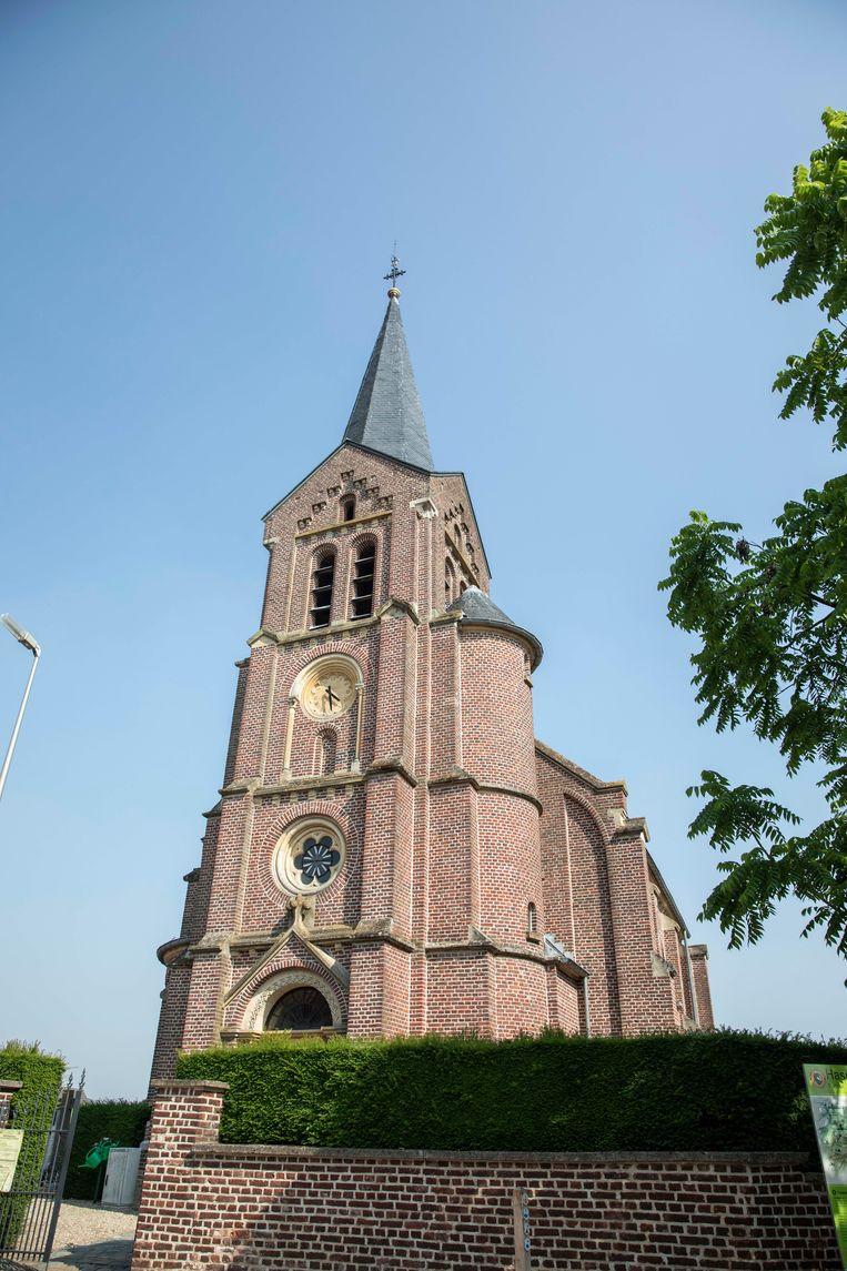 De kerk in Zammelen.
