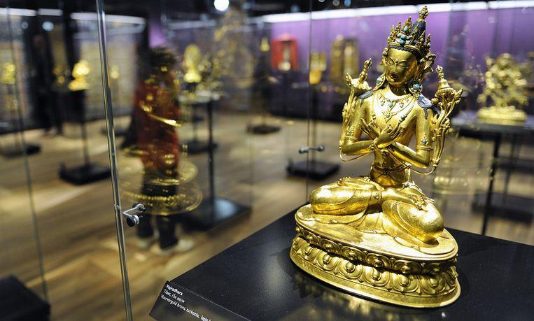 Aziatische kunst in het Wereldmuseum in Rotterdam. Beeld anp