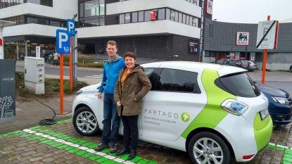 Eerste elektrische deelauto in Wetteren in gebruik