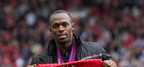 'Bolt op 2 september met ManUnited tegen Barça'