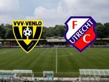 VVV wil tegen Utrecht gat slaan met concurrenten in degradatiestrijd