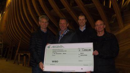 Atletiekclub WIBO steunt vzw De Steenschuit