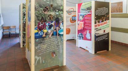 Mondiale initiatieven tentoongesteld in bib