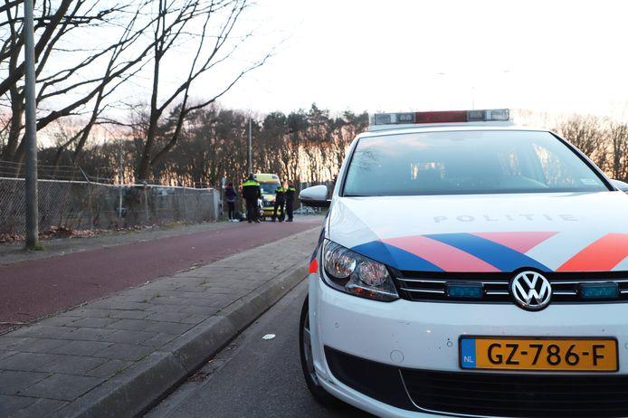 De motorrijder raakte gewond op de Burgermeester Daleslaan in Nijmegen.