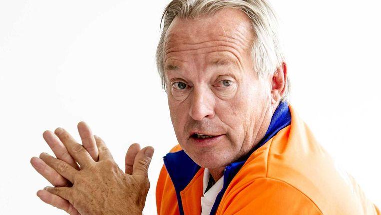 Joop Alberda, technisch directeur van de zwembond. Beeld anp