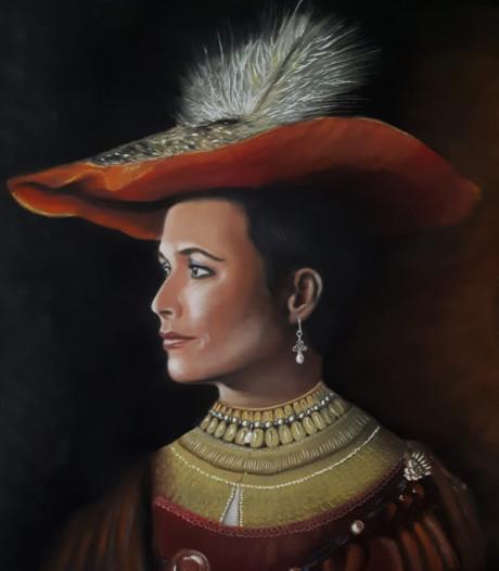 Fantastisch, die waardering voor Annechiens portret