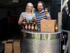 Speciaalbier van Doorwerths stel wordt in de achtertuin gebrouwen en is nu te koop