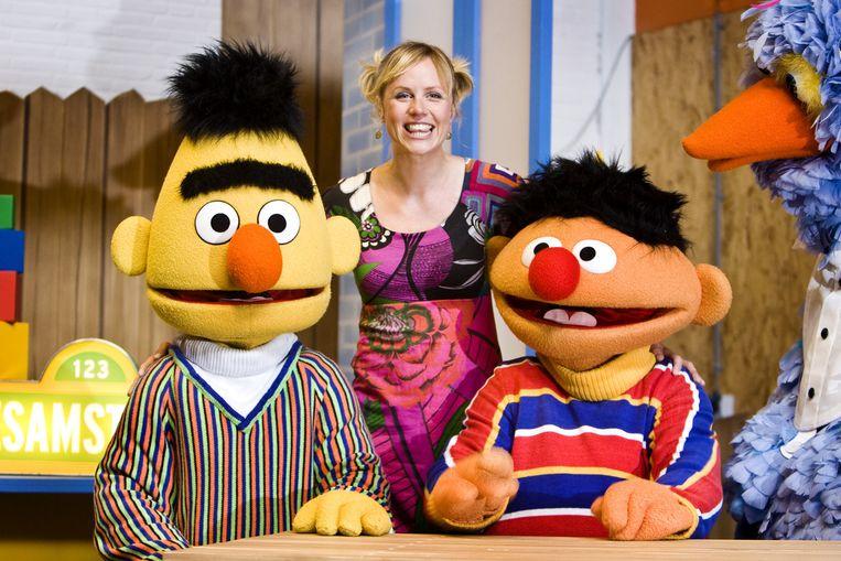 Bert, Dorien en Ernie. Beeld anp