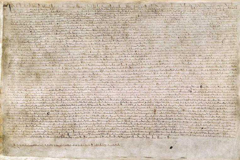 null Beeld De Magna Carta