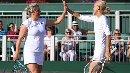 Kim Clijsters wint Invitation Doubles op Wimbledon, Xavier Malisse verliest in finale