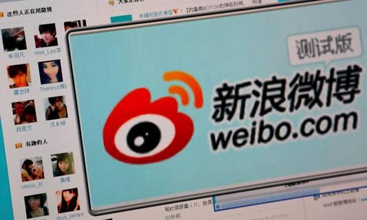 Het Chinese Sina Weibo.