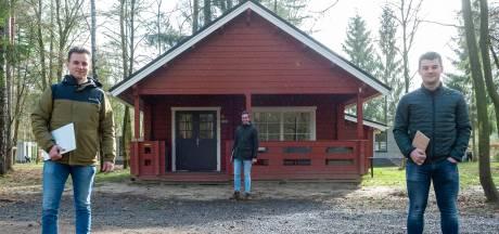 Thuiswerken kan ook in een huisje op een Veluws vakantiepark: te huur per dagdeel