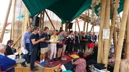 A-koor zingt Arabisch lied met westers sausje om culturen te verbinden