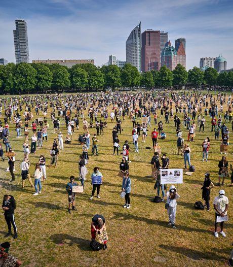 Lees terug | Black Lives Matter-demonstratie verliep 'rustig, ordelijk en in goede sfeer'