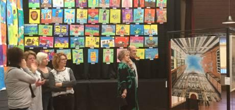 Kleurrijke expositie Kunstkring De Meent in Nuland