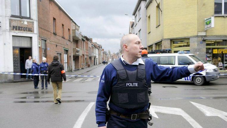 Politie bij kinderdagverblijf 'Fabeltjesland'in 2009. Beeld epa