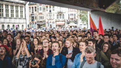Betoging tegen Schild & Vrienden verliep rustig