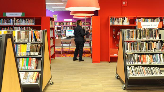 De bibliotheek van Boxmeer.
