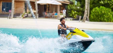 Salah geniet op de jetski, Cristiano maakt vrienden in China