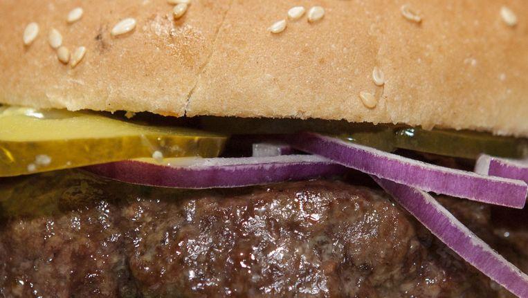 Well done? De burger van De Biertuin won de hamburgertest van Het Parool in 2013. Beeld Floris Lok