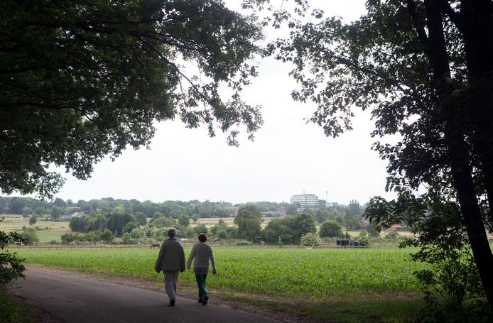De Wageningse Eng is een open landschap. Daar wil de gemeenteraad geen zonneparken